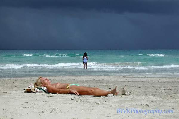Guanabo, Cuba.... storm coming in