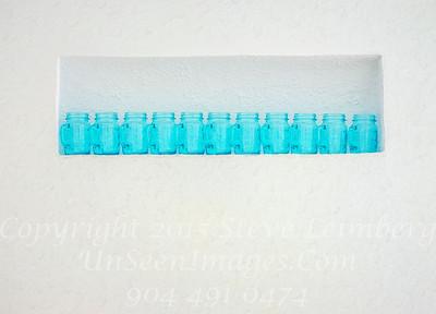 Blue Bottles Havana Gellato Place - PAINTING Copyright 2017 Steve Leimberg UnSeenImages Com _DSF3562