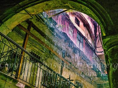 Rain Storm - Courtyard Havana - Copyright 2017 Steve Leimberg UnSeenImages Com_DSF8913