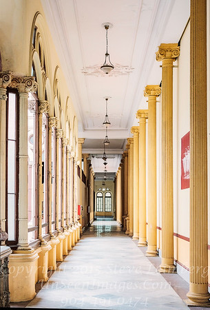 Hallway of  Cuban National Ballet - Copyright 2018 Steve Leimberg UnSeenImages Com _DSF7415