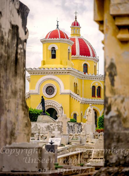 Chapel Colon Cemetery Havana - Copyright 2017 Steve Leimberg UnSeenImages Com  _DSF1003