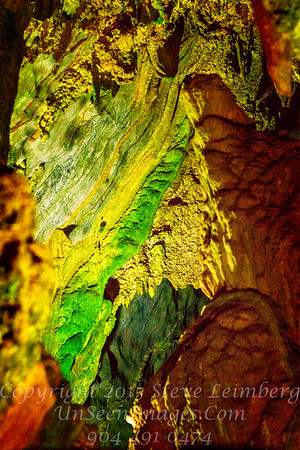 Detail of Ceiling in Limestone Cave - Vinales Valley  Copyright 2017 Steve Leimberg UnSeenImages Com  _Z2A3958