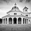 Main Chapel - Colon Cemetery Havana - B&W Copyright 2017 Steve Leimberg UnSeenImages Com _Z2A5134