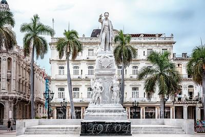 Jose Marti Statue - Copyright 2018 Steve Leimberg UnSeenImages Com _DSF7631