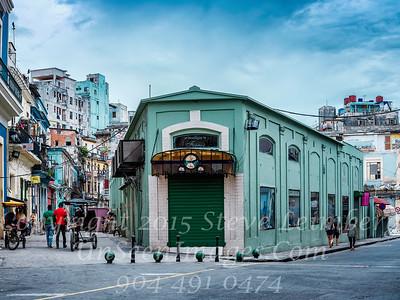 Corner in Old Havana - Copyright 2017 Steve Leimberg UnSeenImages Com _DSF7574