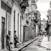 Wet Streets in Havana - B&W  Copyright 2017 Steve Leimberg UnSeenImages Com _DSF2994