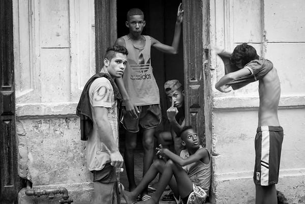 Havana Cuba boys