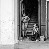Woman on Cell Phone - B&W Copyright 2017 Steve Leimberg UnSeenImages Com _Z2A5529