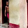 Boy Peeking Out the Door - Copyright 2017 Steve Leimberg UnSeenImages Com _DSF1498