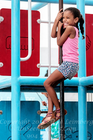 Girl at Barbershop Playground - Copyright 2017 Steve Leimberg UnSeenImages Com _DSF3919