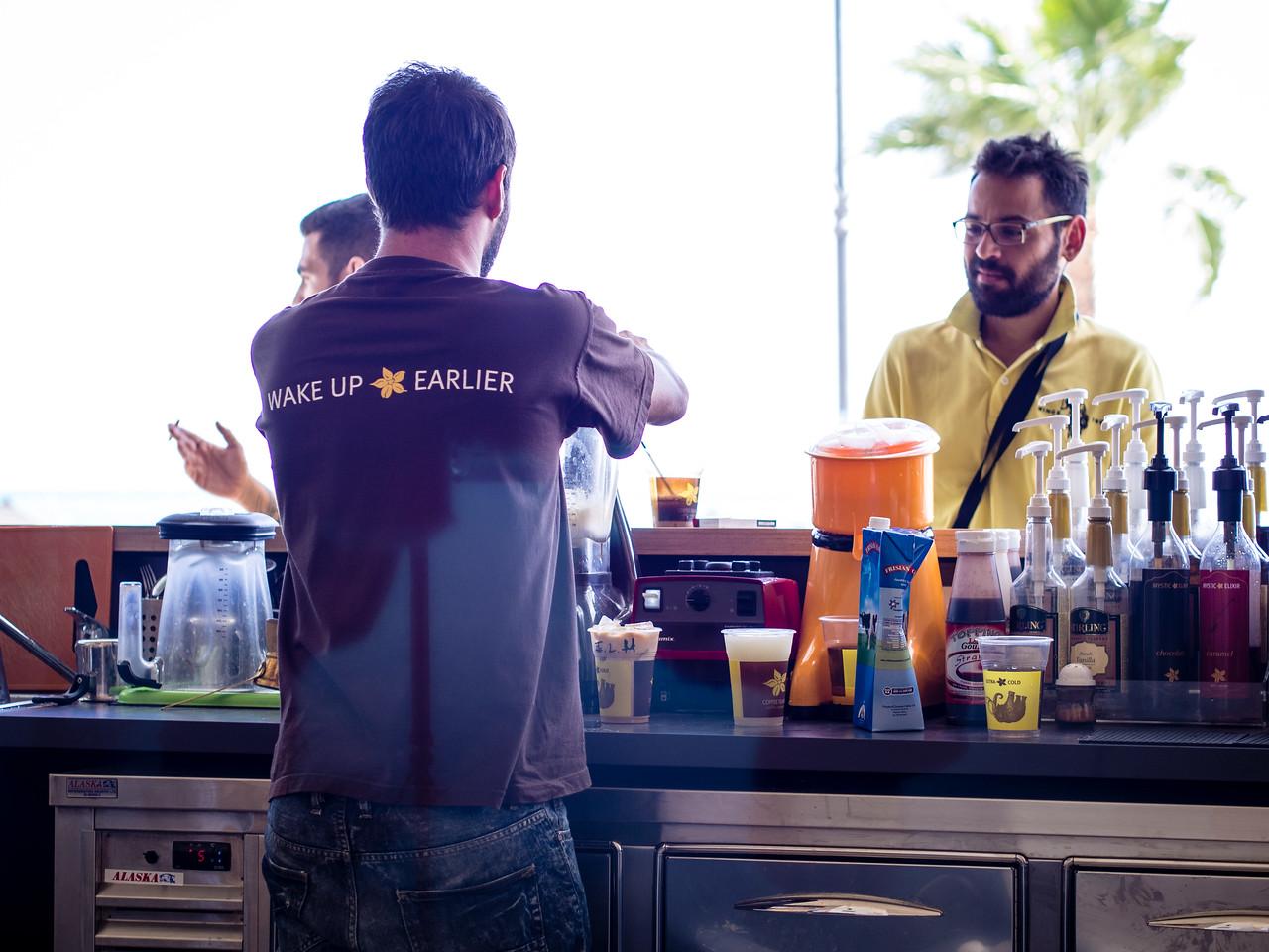 Cafe in Larnaca