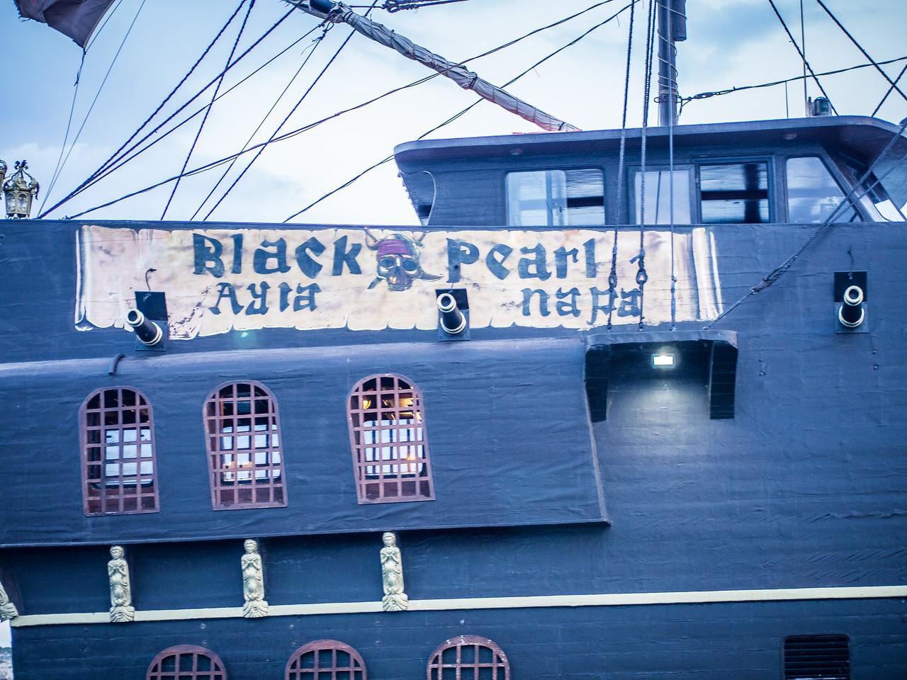 Black Pearl near Protaras