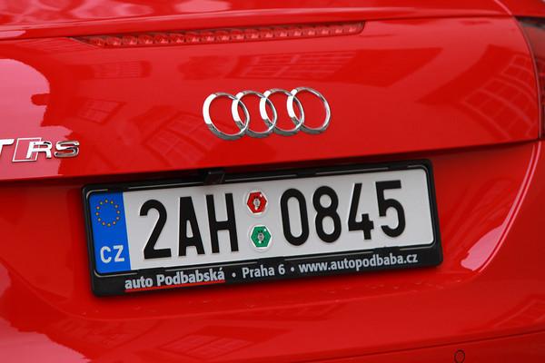 Audi TT RS Prague, Czech Republic