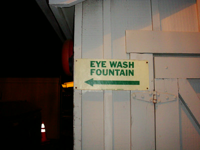 Eye Wash Fountain