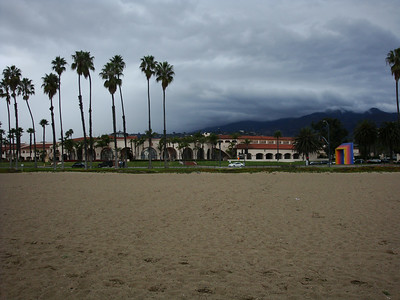 Beach and resort