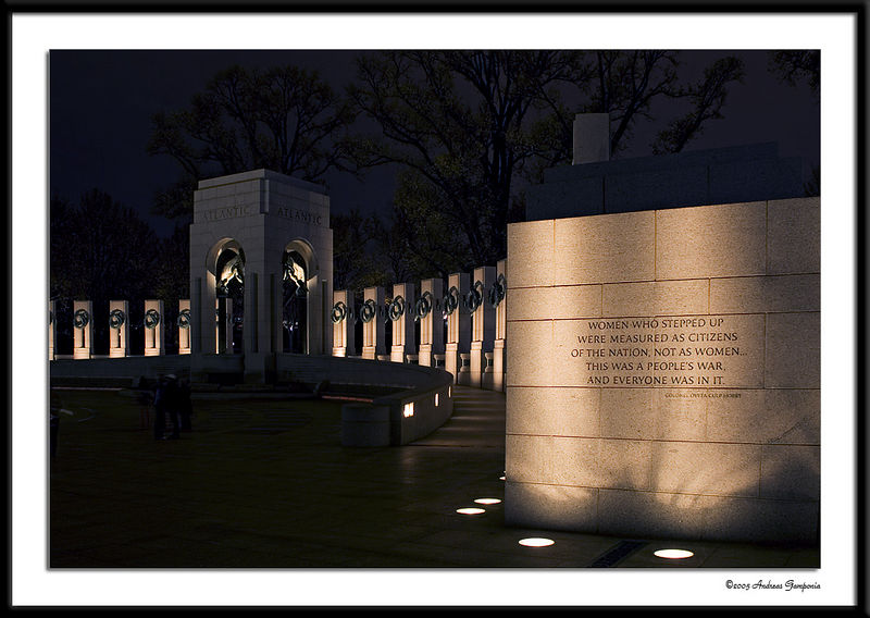 &#84;&#104;&#101;&#32;&#119;&#97;&#108;&#108;&#32;&#108;&#101;&#97;&#100;&#105;&#110;&#103;&#32;&#116;&#111;&#32;&#116;&#104;&#101;&#32;&#65;&#116;&#108;&#97;&#110;&#116;&#105;&#99;&#32;&#84;&#104;&#101;&#97;&#116;&#101;&#114;&#32;&#80;&#97;&#118;&#105;&#108;&#105;&#111;&#110;&#32;&#105;&#110;&#32;&#116;&#104;&#101;&#32;&#87;&#111;&#114;&#108;&#100;&#32;&#87;&#97;&#114;&#32;&#73;&#73;&#32;&#77;&#101;&#109;&#111;&#114;&#105;&#97;&#108;&#46;&#32;&#32;&#73;&#110;&#115;&#99;&#114;&#105;&#98;&#101;&#100;&#32;&#97;&#114;&#101;&#32;&#116;&#104;&#101;&#32;&#119;&#111;&#114;&#100;&#115;&#58;&#13;<br /> &#13;<br /> &#87;&#79;&#77;&#69;&#78;&#32;&#87;&#72;&#79;&#32;&#83;&#84;&#69;&#80;&#80;&#69;&#68;&#32;&#85;&#80;&#32;&#87;&#69;&#82;&#69;&#32;&#77;&#69;&#65;&#83;&#85;&#82;&#69;&#68;&#32;&#65;&#83;&#32;&#67;&#73;&#84;&#73;&#90;&#69;&#78;&#83;&#32;&#79;&#70;&#32;&#84;&#72;&#69;&#32;&#78;&#65;&#84;&#73;&#79;&#78;&#44;&#32;&#13;<br /> &#78;&#79;&#84;&#32;&#65;&#83;&#32;&#87;&#79;&#77;&#69;&#78;&#8230;&#84;&#72;&#73;&#83;&#32;&#87;&#65;&#83;&#32;&#65;&#32;&#80;&#69;&#79;&#80;&#76;&#69;&#8217;&#83;&#32;&#87;&#65;&#82;&#44;&#32;&#65;&#78;&#68;&#32;&#69;&#86;&#69;&#82;&#89;&#79;&#78;&#69;&#32;&#87;&#65;&#83;&#32;&#73;&#78;&#32;&#73;&#84;&#46;&#32;&#13;<br /> &#13;<br /> &#67;&#111;&#108;&#111;&#110;&#101;&#108;&#32;&#79;&#118;&#101;&#116;&#97;&#32;&#67;&#117;&#108;&#112;&#32;&#72;&#111;&#98;&#98;&#121;&#32;&#13;<br /> &#13;