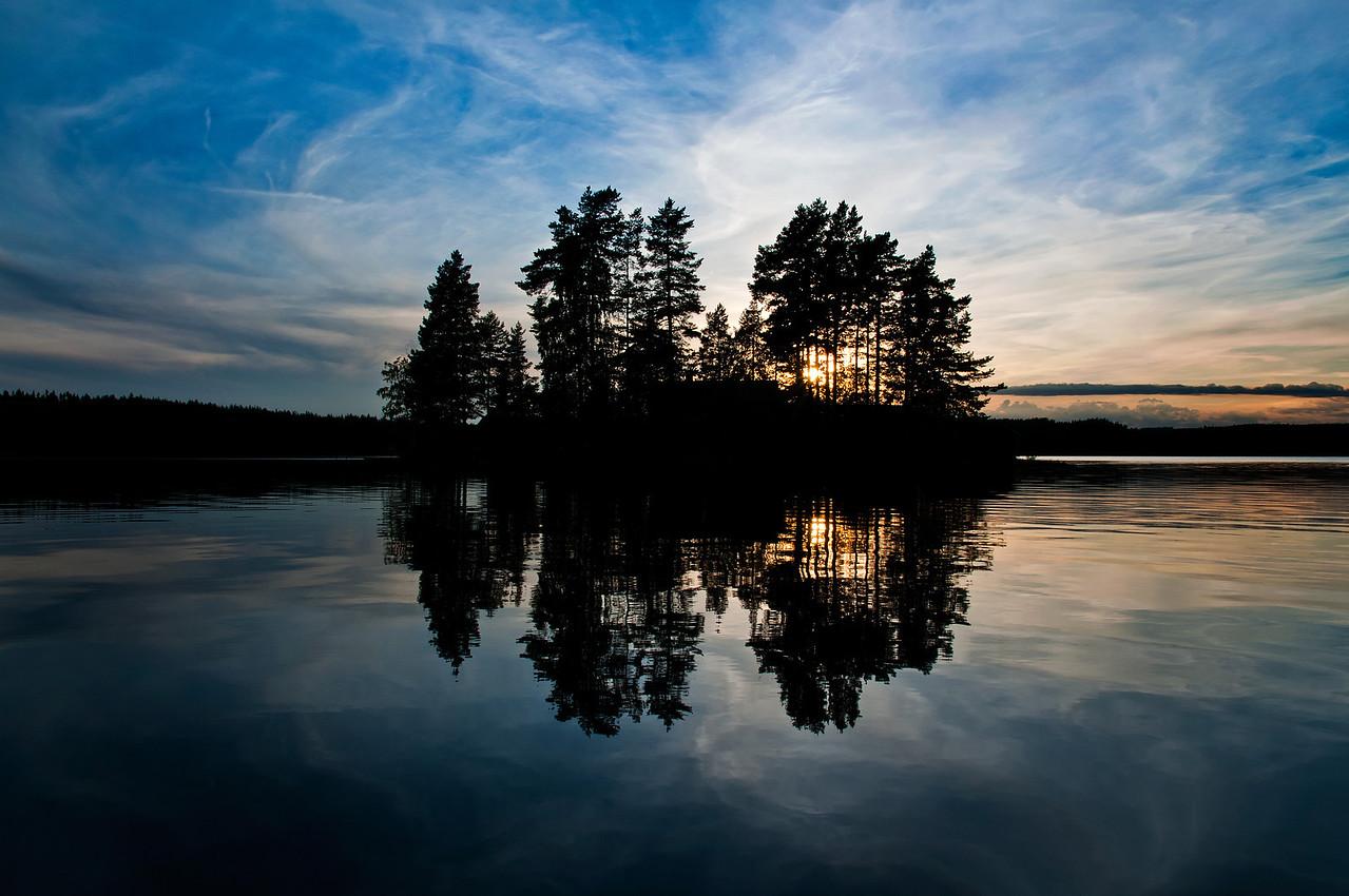Sjön Gimmen, Dalarna, Sverige