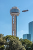 Reunion Tower, Hyatt Regency Dallas, Goodyear Blimp