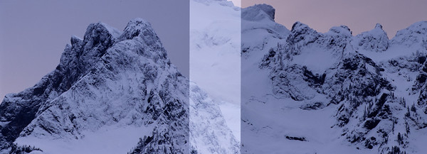 Whitehorse Mountain Double Exposure