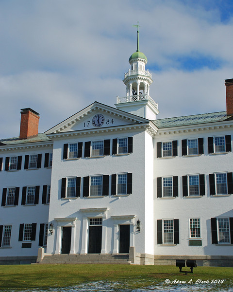Dartmouth Hall at Dartmouth College