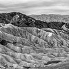 Zabriskie Point area; Death Valley National Park, California