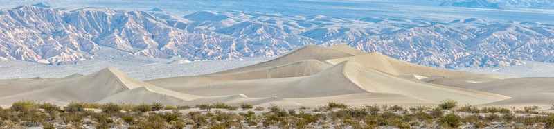 Mesquite Flat Sand Dunes; Death Valley National Park, California