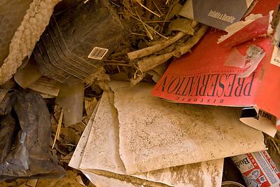 Dust Bin of History  Death Valley Junction, CA
