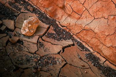 Artist Palette Mud Cracks