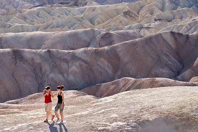 Zabriskie Point mud hills  Death Valley, CA