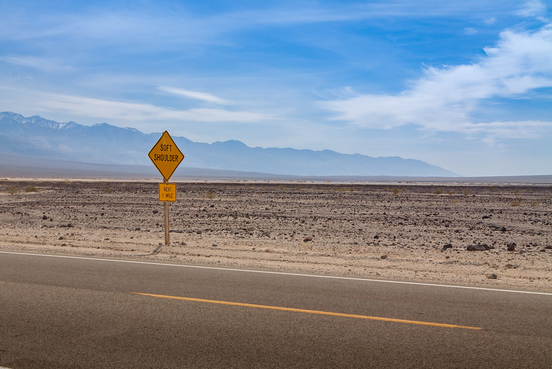 Death Valley - Lonely Sign