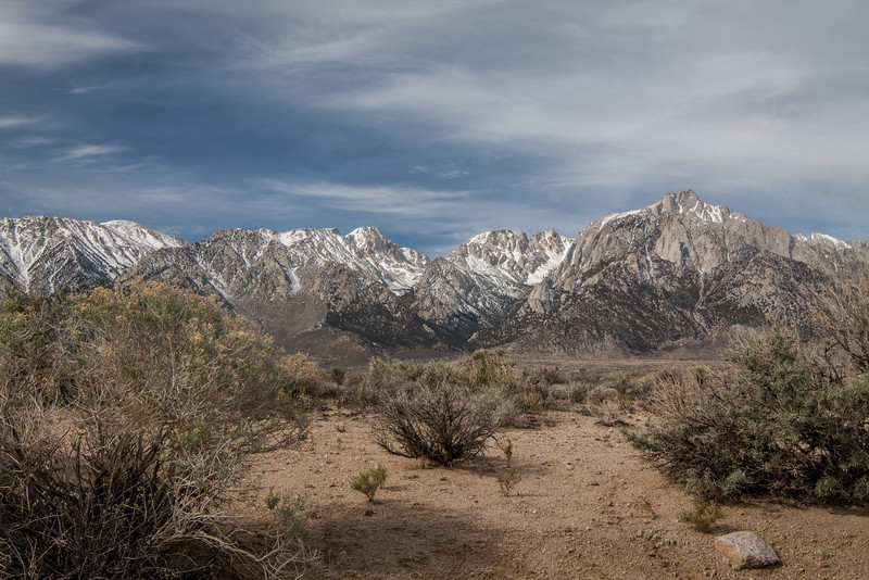 Death Valley - Snow on Mountains