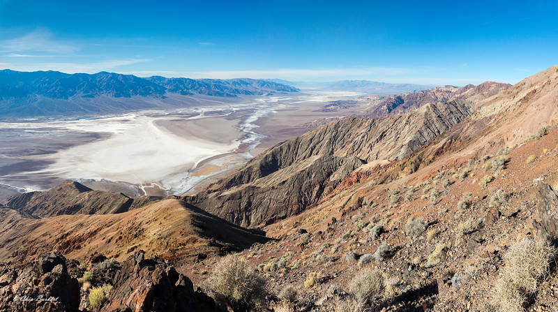 Dante's View of Death Valley Floor