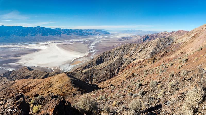 Dante's View of Death Valley Floor