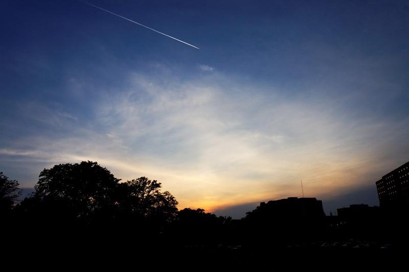 Sunset over Decatur