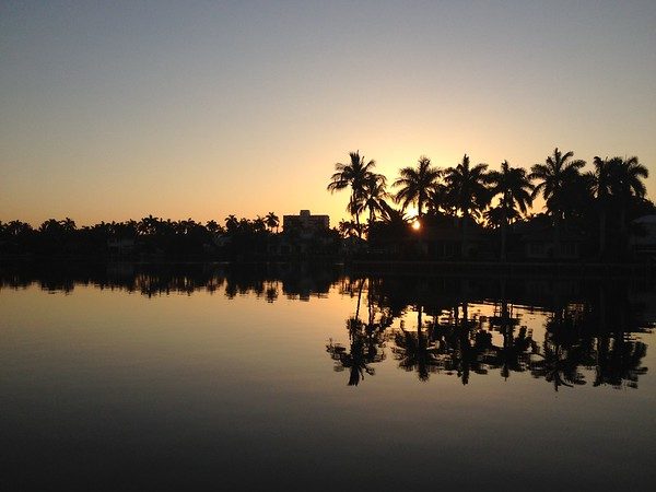 Intracoastal morning reflections