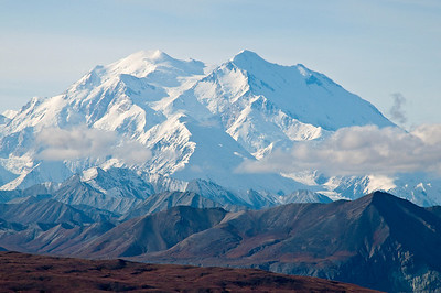 Mt. McKinley (Denali), highest mountain in North America, Denali National Park, Alaska