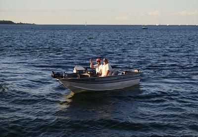 Denis Sullivan - August 2015 Lake Michigan, Milwaukee Wisconsin USA