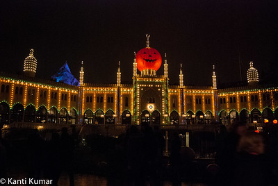 Tivoli during Halloween 2014
