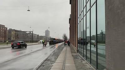 Mink farmers' protest in Copenhagen