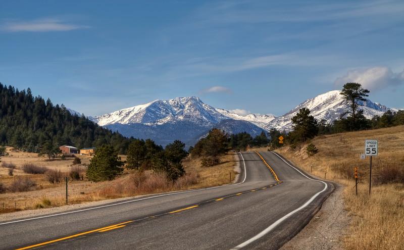 Driving Thru the Colorado Rockies