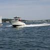 Dangerous wake for small sailboat