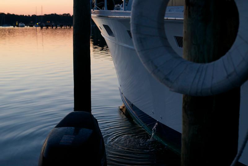 Noisy boat