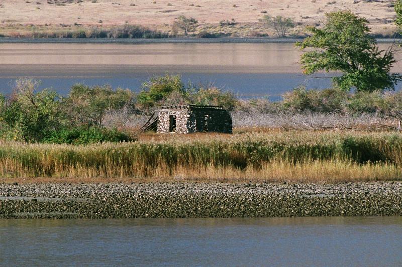 Abandoned Cabin on Goose Island
