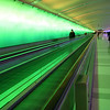 Airport Walkway, Detroit, Michigan