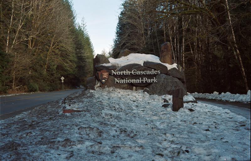 North Cascades National Park Entrance