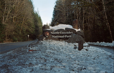 North Cascades National Park Entrance