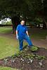 Mark, head gardener at Dirleton Gardens