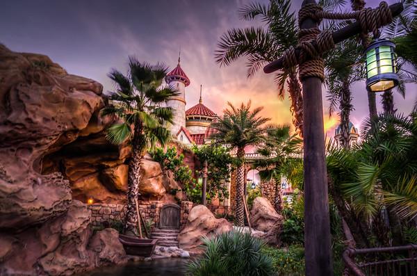 Little Mermaid - Capturing Landscape Photos at Disney, Florida