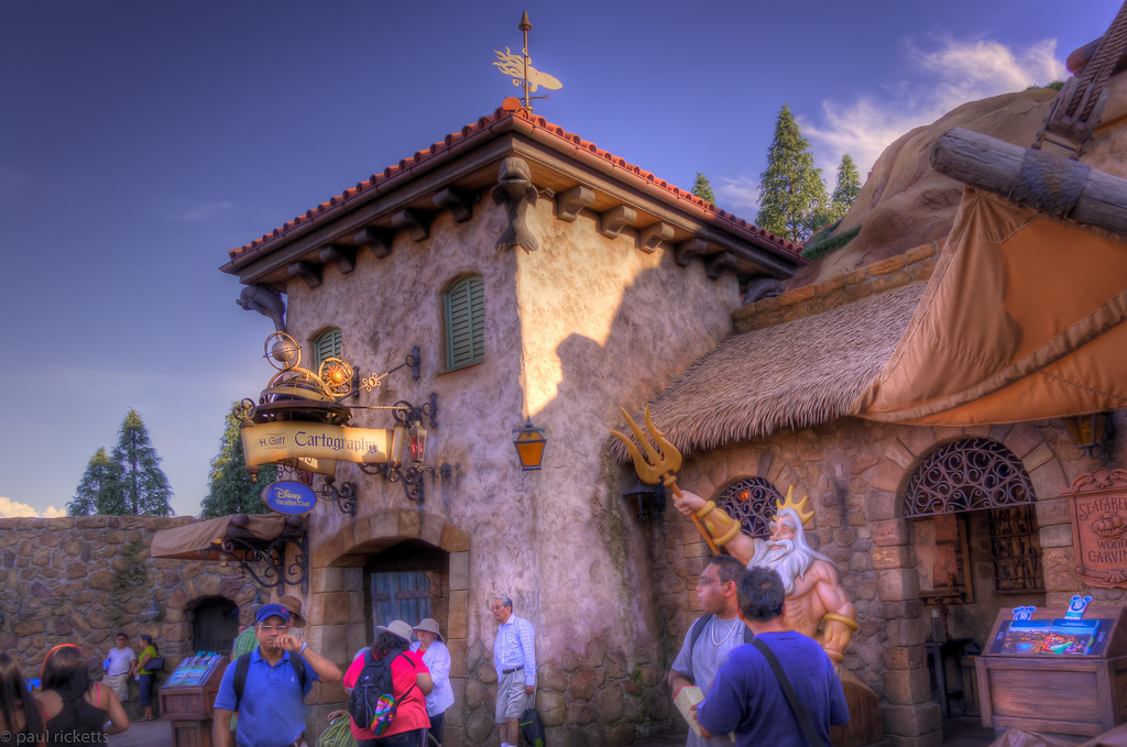 The H. Goff Cartography Shop, Disney Magic Kingdom, Florida