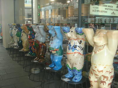 Berlin painted bears